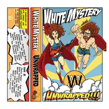 "WHITE MYSTERY ""UNWRAPPED"" TAPE CASSETTE!!"