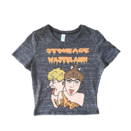 STONEAGE WASTELAND – Culture Vulture Unisex Crop Tee