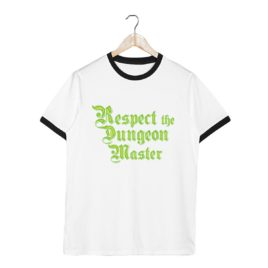 Respect the Dungeon Master – Unisex Tee