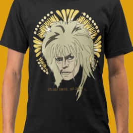 David Bowie Labyrinth Tee- Bowie Unisex Tee