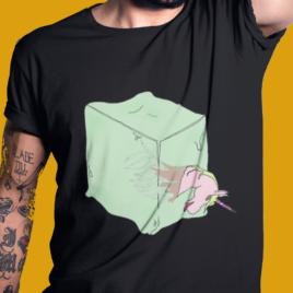 GELATINOUS CUBE TEE – Dungeons & Dragons T Shirt