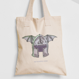 War Dude – Canvas Tote Bag – Dungeon Gamers and RPG tote